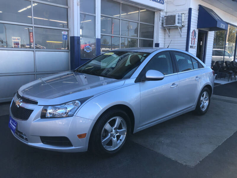 2013 Chevrolet Cruze for sale at Jack E. Stewart's Northwest Auto Sales, Inc. in Chicago IL
