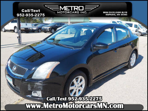 2011 Nissan Sentra for sale at Metro Motorcars Inc in Hopkins MN