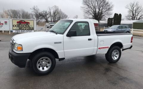 2008 Ford Ranger for sale at Cordova Motors in Lawrence KS