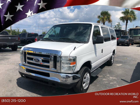 2009 Ford E-Series Wagon for sale at Outdoor Recreation World Inc. in Panama City FL