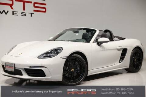 2021 Porsche 718 Boxster for sale at Fishers Imports in Fishers IN