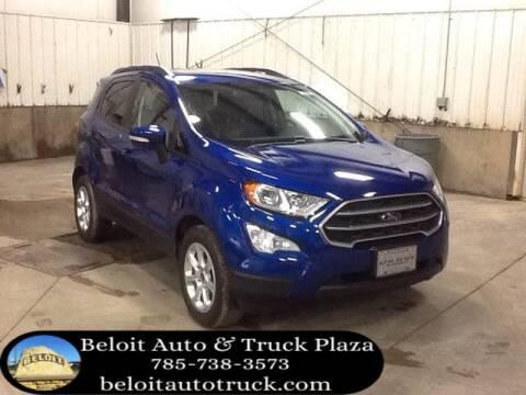 2020 Ford EcoSport for sale at BELOIT AUTO & TRUCK PLAZA INC in Beloit KS