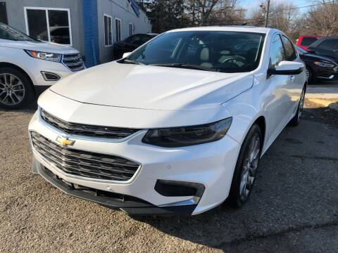 2016 Chevrolet Malibu for sale at One Price Auto in Mount Clemens MI