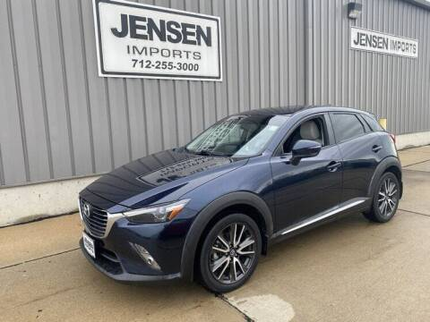 2017 Mazda CX-3 for sale at Jensen's Dealerships in Sioux City IA