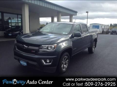 2019 Chevrolet Colorado for sale at PARKWAY AUTO CENTER AND RV in Deer Park WA
