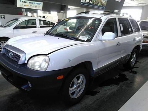 2002 Hyundai Santa Fe for sale at Cars Now KC in Kansas City MO