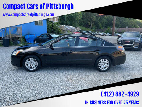 2012 Nissan Altima for sale at Compact Cars of Pittsburgh in Pittsburgh PA