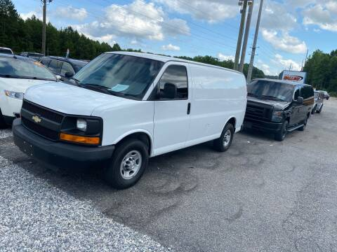 2015 Chevrolet Express Cargo for sale at Billy Ballew Motorsports in Dawsonville GA
