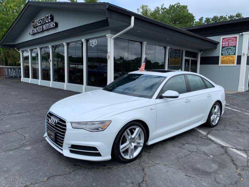 2016 Audi A6 for sale at Prestige Pre - Owned Motors in New Windsor NY