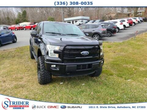 2016 Ford F-150 for sale at STRIDER BUICK GMC SUBARU in Asheboro NC