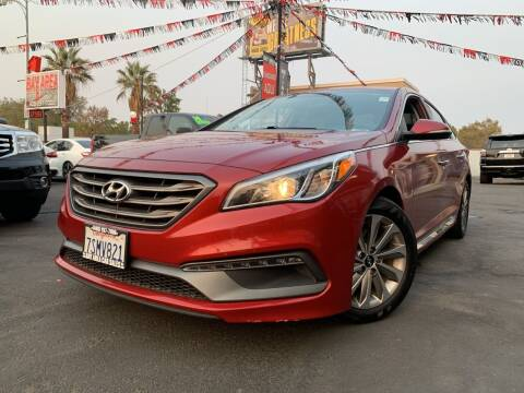 2016 Hyundai Sonata for sale at BAY AREA CAR SALES in San Jose CA