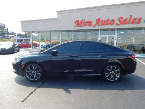 2015 Chrysler 200 for sale at Mira Auto Sales in Dayton OH