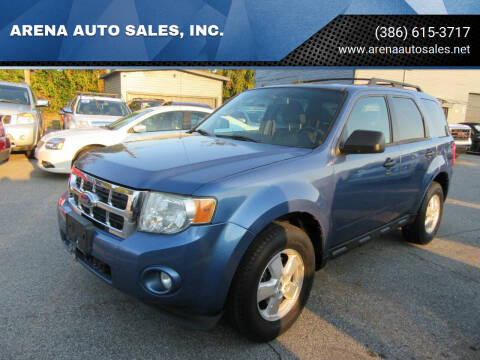 2009 Ford Escape for sale at ARENA AUTO SALES,  INC. in Holly Hill FL