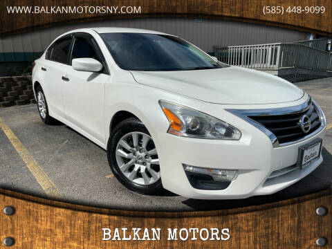 2013 Nissan Altima for sale at BALKAN MOTORS in East Rochester NY