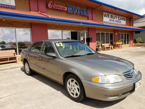 2002 Mazda 626 for sale at Ohana Motors in Lihue HI