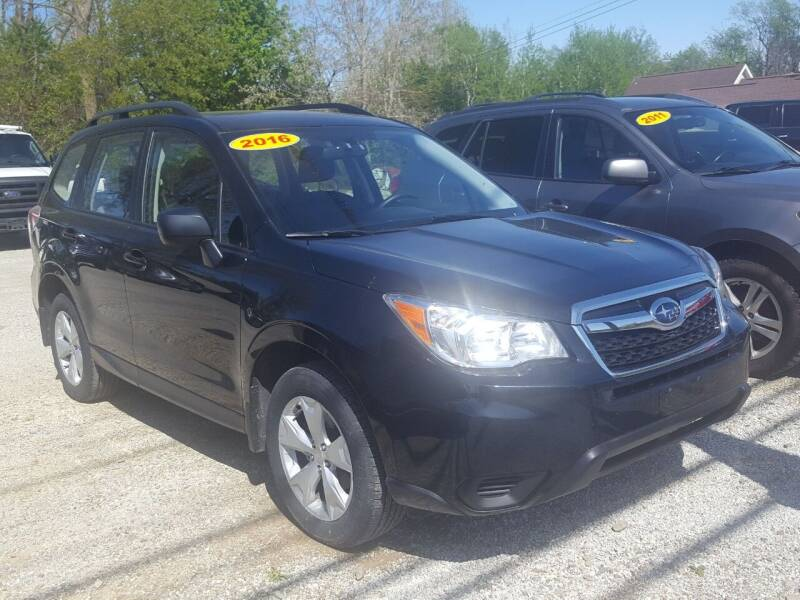 2016 Subaru Forester for sale at Jack Cooney's Auto Sales in Erie PA