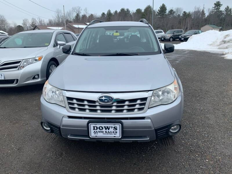 2012 Subaru Forester for sale at DOW'S AUTO SALES in Palmyra ME