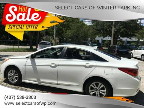 2014 Hyundai Sonata for sale at Select Cars Of Winter Park Inc in Orlando FL
