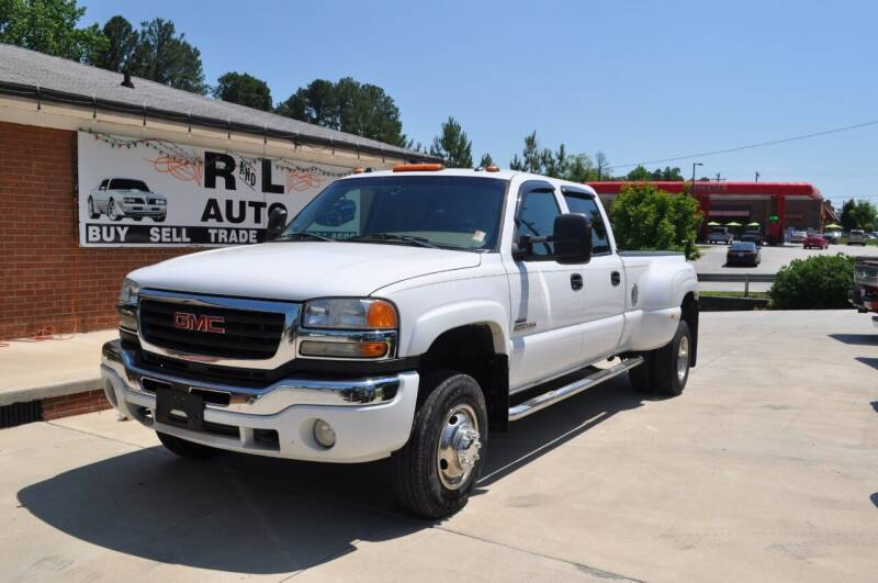 2005 GMC Sierra 3500 for sale at R & L Autos in Salisbury NC