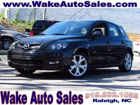 2008 Mazda MAZDA3 for sale at Wake Auto Sales Inc in Raleigh NC