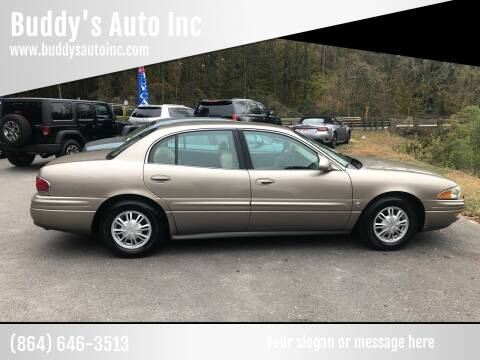 2004 Buick LeSabre for sale at Buddy's Auto Inc in Pendleton SC