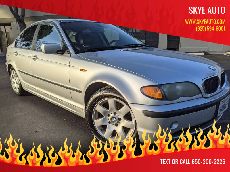 2004 BMW 3 Series for sale at Skye Auto in Fremont CA