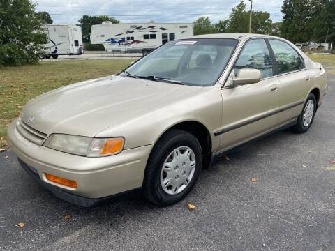 1995 Honda Accord for sale at Champion Motorcars in Springdale AR