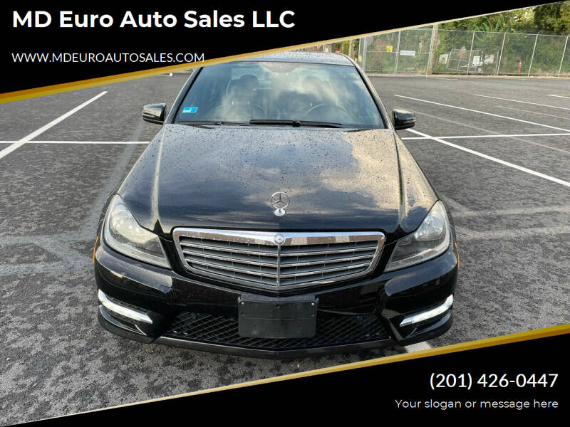 2012 Mercedes-Benz C-Class for sale at MD Euro Auto Sales LLC in Hasbrouck Heights NJ