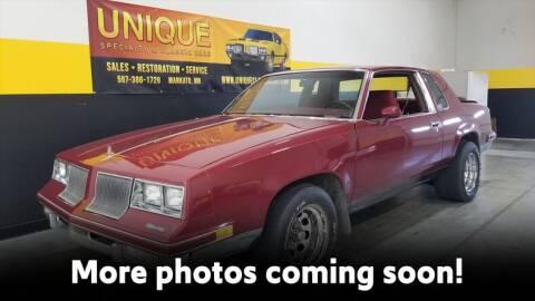 1981 Oldsmobile Cutlass Calais for sale at UNIQUE SPECIALTY & CLASSICS in Mankato MN