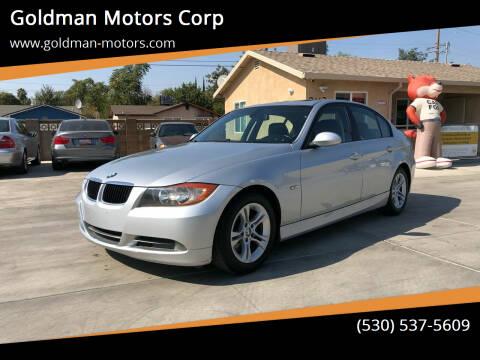 2008 BMW 3 Series for sale at Goldman Motors Corp in Stockton CA