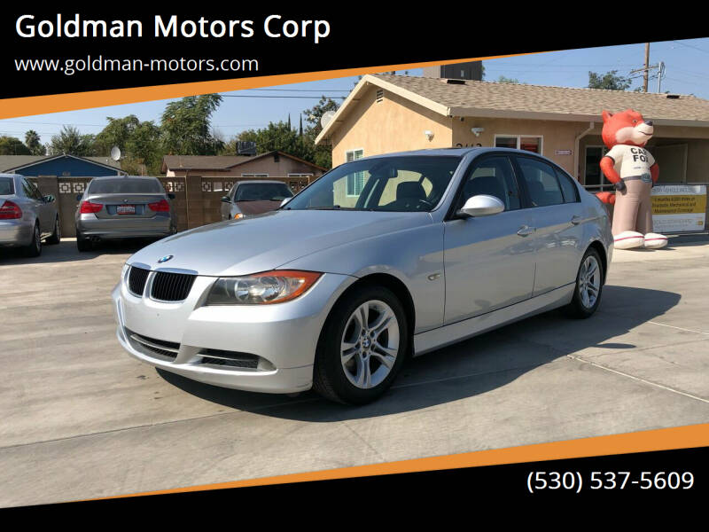 2008 BMW 3 Series for sale at Goldman Motors Corp in Stockton CA