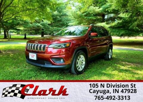 2019 Jeep Cherokee for sale at Clark Chevrolet in Cayuga IN