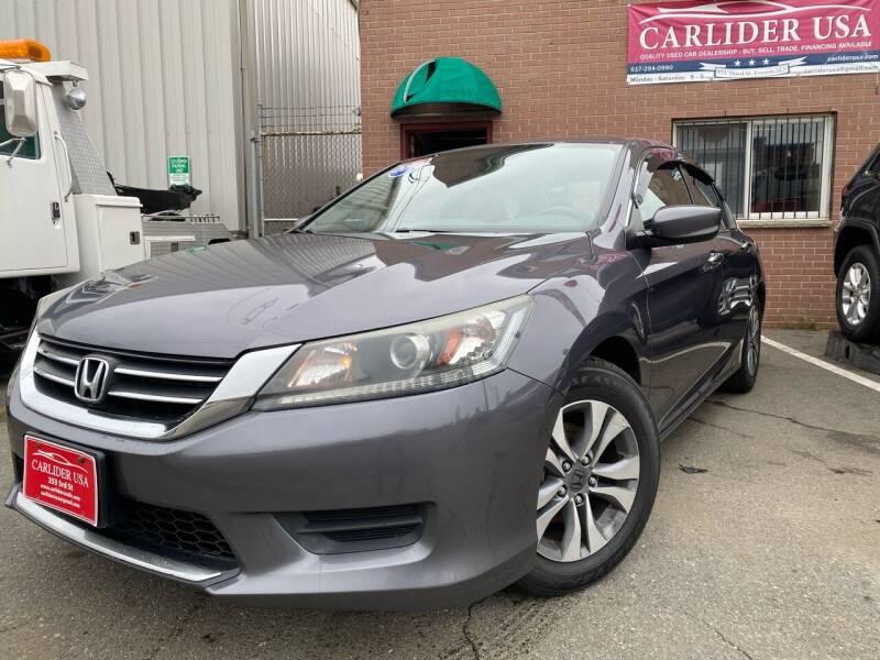 2014 Honda Accord for sale at Carlider USA in Everett MA