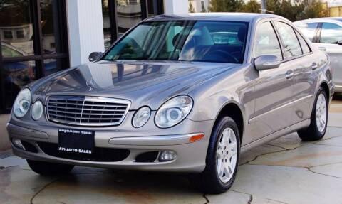 2005 Mercedes-Benz E-Class for sale at Avi Auto Sales Inc in Magnolia NJ