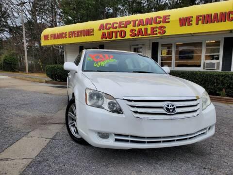 2006 Toyota Avalon for sale at Acceptance Auto Sales in Marietta GA