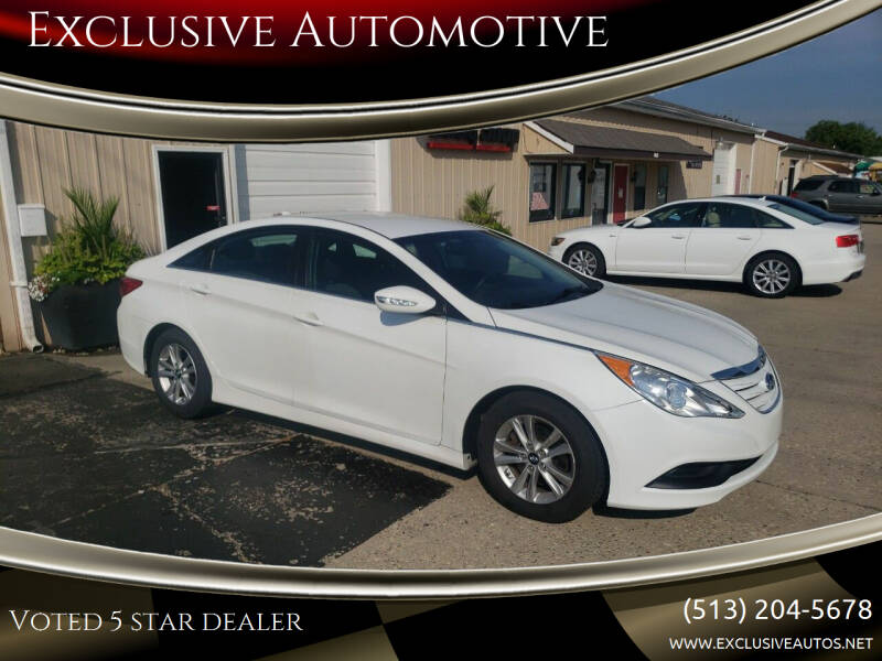 2014 Hyundai Sonata for sale at Exclusive Automotive in West Chester OH