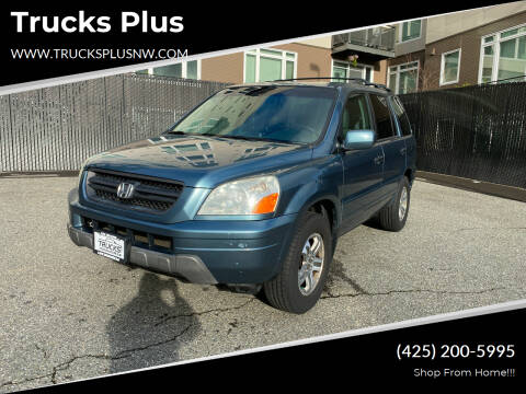 2005 Honda Pilot for sale at Trucks Plus in Seattle WA