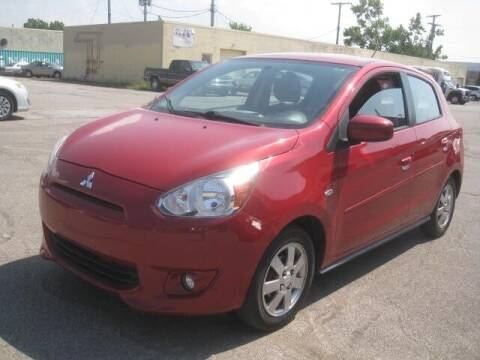 2015 Mitsubishi Mirage for sale at ELITE AUTOMOTIVE in Euclid OH