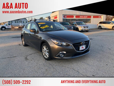 2014 Mazda MAZDA3 for sale at A&A AUTO in Fairhaven MA