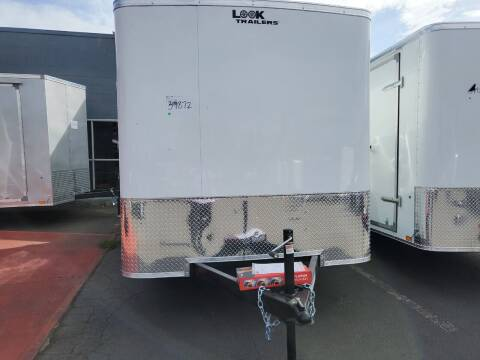 2022 Look Cargo Trailer LSCAA7.0X14TE2FC for sale at Siamak's Car Company llc in Salem OR