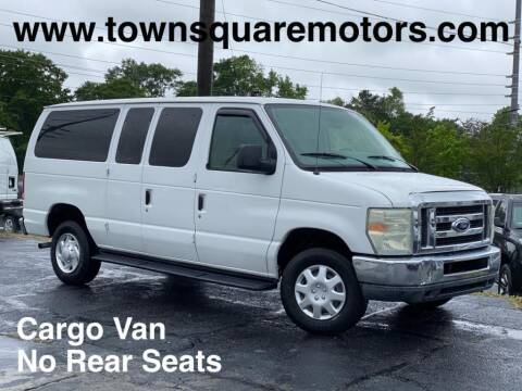 2010 Ford E-Series Wagon for sale at Town Square Motors in Lawrenceville GA