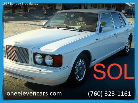 1997 Bentley Brooklands for sale at One Eleven Vintage Cars in Palm Springs CA
