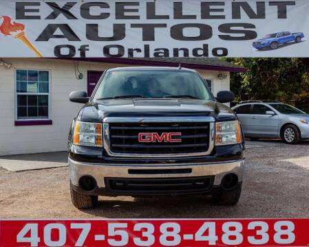 2009 GMC Sierra 1500 for sale at Excellent Autos of Orlando in Orlando FL