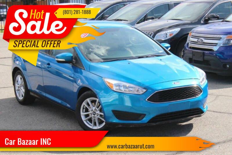 2015 Ford Focus for sale at Car Bazaar INC in Salt Lake City UT