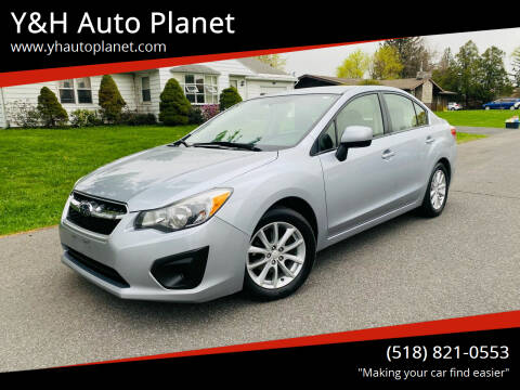 2014 Subaru Impreza for sale at Y&H Auto Planet in West Sand Lake NY
