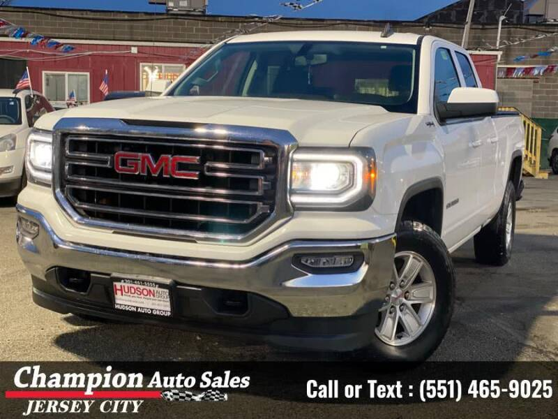 2016 GMC Sierra 1500 for sale at CHAMPION AUTO SALES OF JERSEY CITY in Jersey City NJ