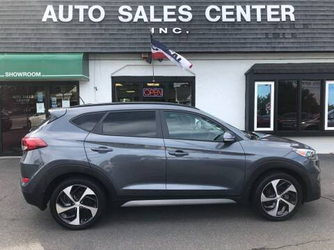 2017 Hyundai Tucson for sale at Auto Sales Center Inc in Holyoke MA