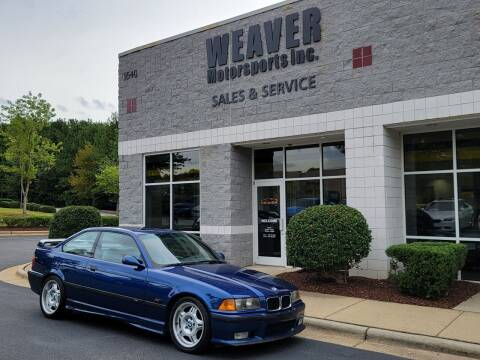 1995 BMW M3 for sale at Weaver Motorsports Inc in Cary NC