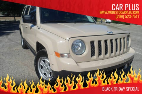 2017 Jeep Patriot for sale at CAR PLUS in Modesto CA