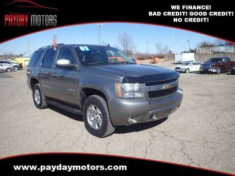 2007 Chevrolet Tahoe for sale at Payday Motors in Wichita And Topeka KS